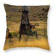 Windmill 1 Throw Pillow