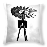 Windmill Dreams Throw Pillow