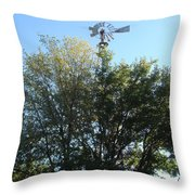 Windmill II Throw Pillow