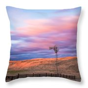Windmill Le Throw Pillow