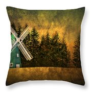 Windmill On My Mind Throw Pillow