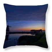 Windmill Pond Throw Pillow