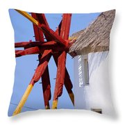 Windmill Strength Throw Pillow