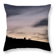 Windmills Throw Pillow