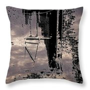 Window 3 Throw Pillow
