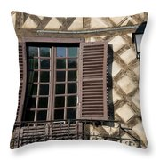 Window And Light Throw Pillow