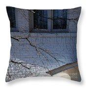 Window Blue - 1 Throw Pillow