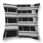 Window Cicles Throw Pillow