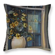 Window Dressing - Lmj Throw Pillow