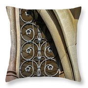 Window Elements Throw Pillow by Todd Blanchard