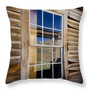 Window In Perspective Throw Pillow
