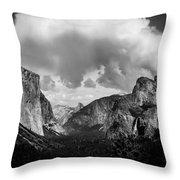 Window Into Yosemite Throw Pillow