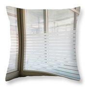 Window Light - Urban Exploration Throw Pillow