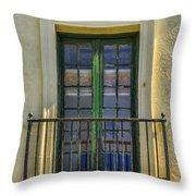 Window Of Amelia Throw Pillow