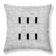 Window Of Lincoln Center, Upper West Side Manhattan Throw Pillow