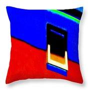 Window Of The Southwest  Throw Pillow