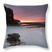 Window On Dawn Throw Pillow