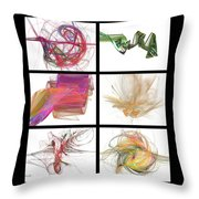 Window One Throw Pillow