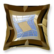 Window To Another Dimension Throw Pillow