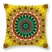 Window To Soul No. 6 Throw Pillow