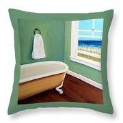Window To The Sea No. 4 Throw Pillow
