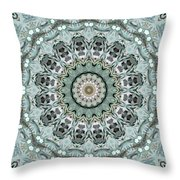 Window To The World Mandala Throw Pillow