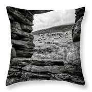 Window To Tryfan Throw Pillow