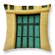 window to Vietnam Throw Pillow