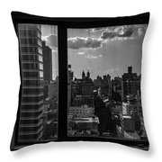 Window View Throw Pillow