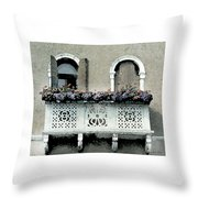Window With A View Throw Pillow