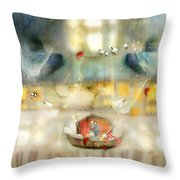 Windows And Openings Throw Pillow