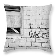 Windows And Tags Throw Pillow