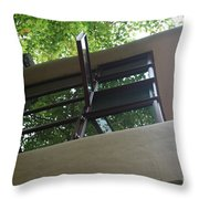 Windows Fallingwater  Throw Pillow