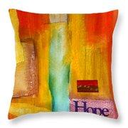 Windows Of Hope Throw Pillow