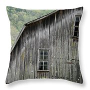 Windows Of The Past Throw Pillow