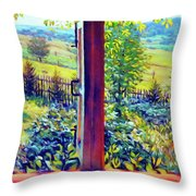 Windows Of Your Mind Throw Pillow
