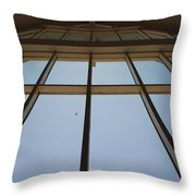 Windows Up Throw Pillow