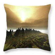 Windrift Throw Pillow