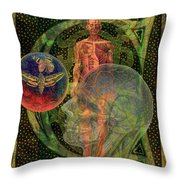 Winds Of Change Throw Pillow by Joseph Mosley