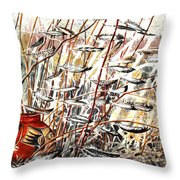 Winds Of Fortune Throw Pillow
