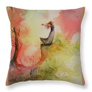 Winds Of Freedom Throw Pillow