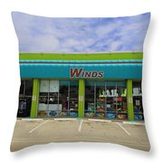 Winds Of Ft Myers II Throw Pillow