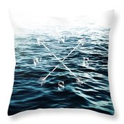 Winds Of The Sea Throw Pillow