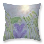Windsitter Spring Breeze Throw Pillow