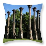 Windsor Mansion 1 Throw Pillow