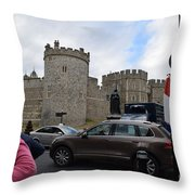 Windsor Castle #1 Throw Pillow