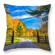 Windstone Farm Throw Pillow