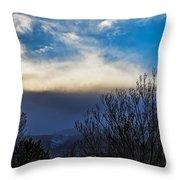 Windstorm Throw Pillow