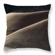 Windswept Dunes Throw Pillow