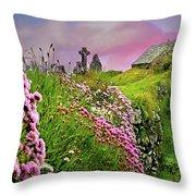 Windswept Memories Throw Pillow